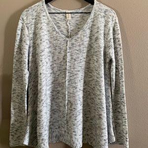 Gray trapeze sweater 🌸